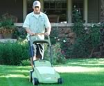 Clean Air Lawn Care's Organic Lawn Care Service uses Electric Lawn Mowers and Lawn Equipment