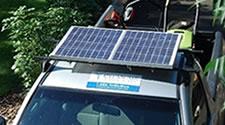 Clean Air Lawn Care Solar Panel