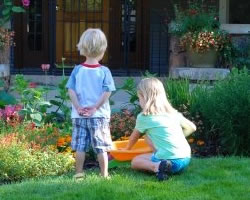 Organic Lawn Care is safe for Families