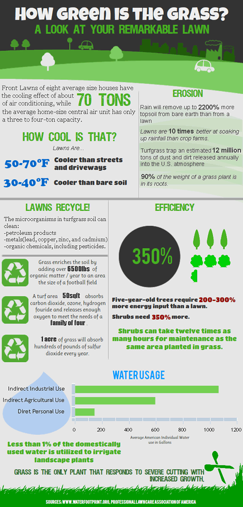 Infographic: How Green is the Grass?