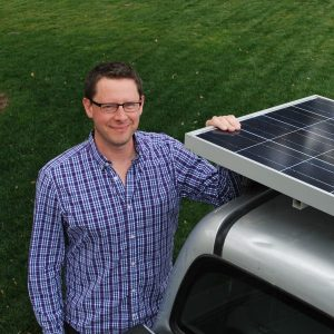 green entrepreneur Kelly Giard