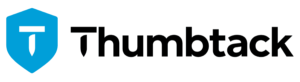 thumbtack logo for franchise partnership