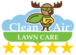 5-star lawn care company logo