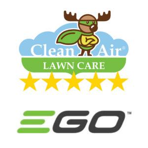 EGO blower with CALC fertilizer