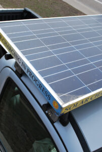 solar powered electric lawn care equipmement