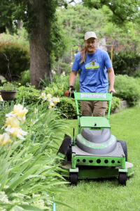 Fort Collins Lawn Care all electric mower